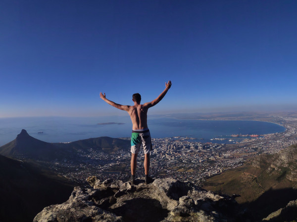 Table mountain hike